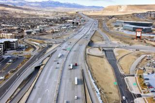 I-15 reconstruction Lehi Utah
