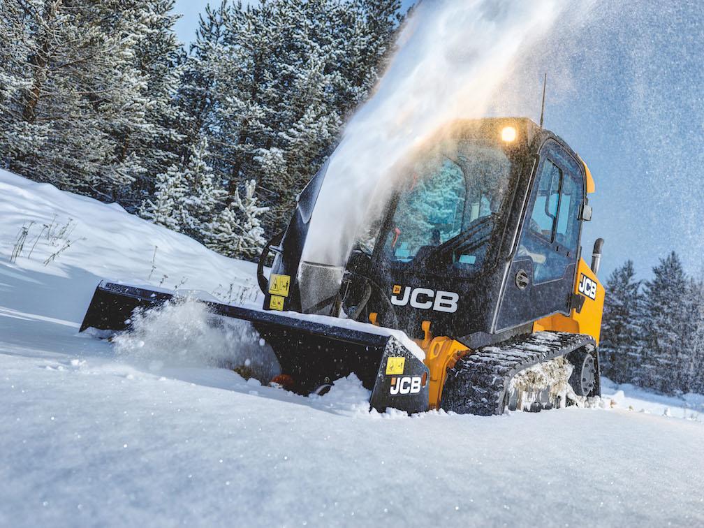 JCB Snow Blower